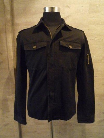 画像1: Military jacket(ブラック) |Ark silver accessories
