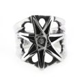 seven pointed star ring / cooldust