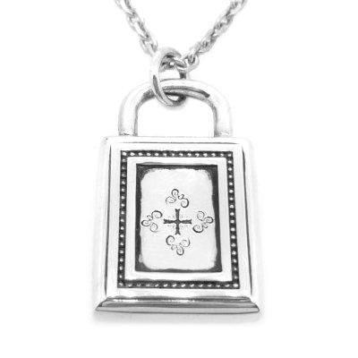 シャドウクロス パドロック|Ark silver accessories(アークシルバーアクセサリーズ)