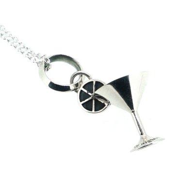 カクテルグラスチャーム|Ark silver accessories