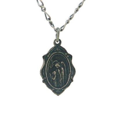 【メダイ】聖ヨセフと守護天使|Ark silver accessories(アークシルバーアクセサリーズ)