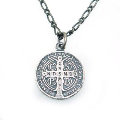 【メダイ】聖ベネデット|Ark silver accessories(アークシルバーアクセサリーズ)