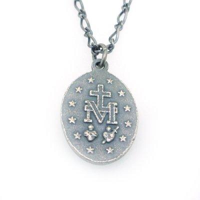 【メダイ】無原罪の御宿りラージ|Ark silver accessories(アークシルバーアクセサリーズ)