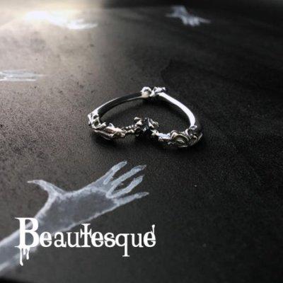 [ハート レザーネックレス] Heart|Beautesque(ビュウテスク)