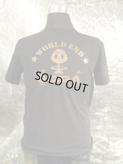画像1: アークシルバーアクセサリーズ/WORLD END 煙スカル Tシャツ