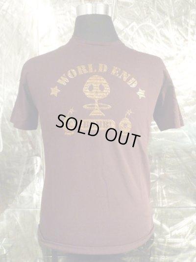 画像2: アークシルバーアクセサリーズ/WORLD END 煙スカル Tシャツ