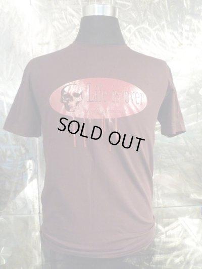画像2: アークシルバーアクセサリーズ/LIFE IS OVER スカル Tシャツ