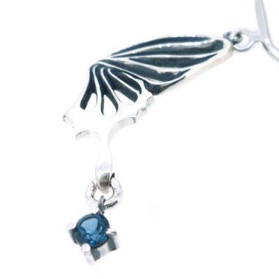 画像3: アゲハ/蝶の片羽イヤリング|FUNKOUTS-ageha