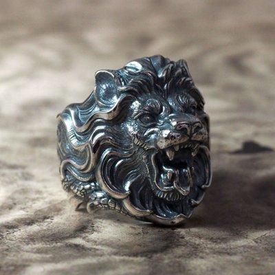 ネメアの獅子のシルバーリング|Guardia/ガルディア