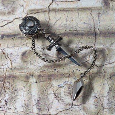 ダガーと鏃(やじり)のシルバーピアス|Guardia/ガルディア