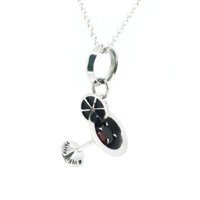 [ゴールデンボンバー喜矢武豊さん愛用]カクテルグラスチャーム|Ark silver accessories