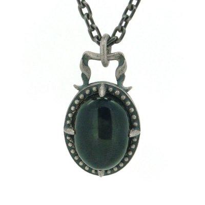 [ブラックスター ネックレス]shining star pendant|Ark silver accessories(アークシルバーアクセサリーズ)