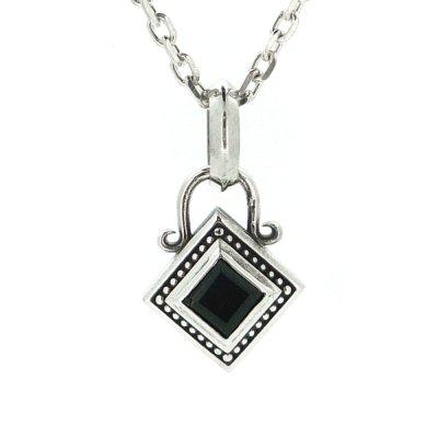 アミュレットストーンペンダント(オニキス)|Ark silver accessories(アークシルバーアクセサリーズ)