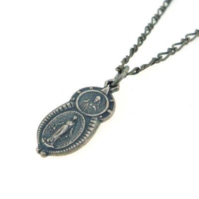 【メダイ】キリスト聖母子|Ark silver accessories(アークシルバーアクセサリーズ)