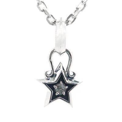 星のペンダントチャーム|アークシルバーアクセサリーズ