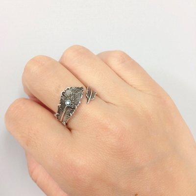 フェニックス・テイルフェザー・リング・ブルーダイヤモンド / ZOCALO(ソカロ)