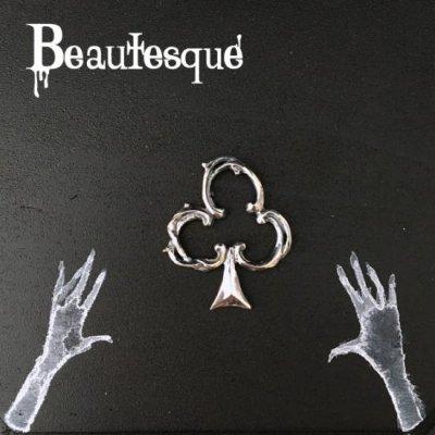 [クローバー レザーネックレス] Club|Beautesque(ビュウテスク)
