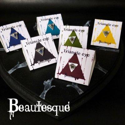 [義眼]Triangle eye ピアス|Beautesque(ビュウテスク)
