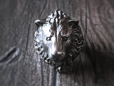【ライオンリング】Large Lion|gush(ガッシュ)