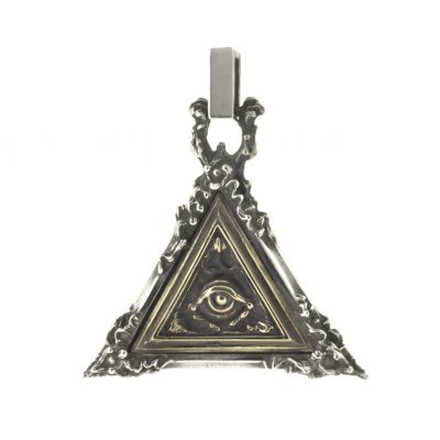 [プロビデンスの目] Eye of Providence large(silver&brass)|Nil:GRAVE(ニルグレイブ)