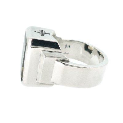 ジュエルリング(シトリン) / Ark silver accessories
