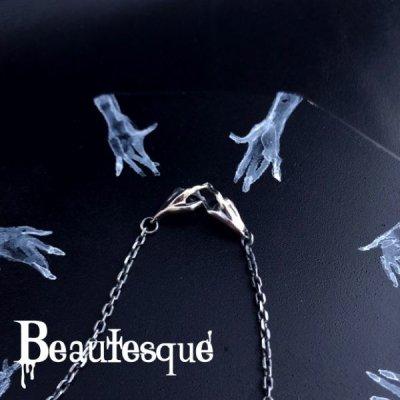 [ハート][シルバーネックレス] Secret Love|Beautesque(ビュウテスク)