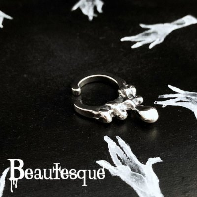 [どろどろ イヤーカフ] Overflow ear cuff|Beautesque(ビュウテスク)