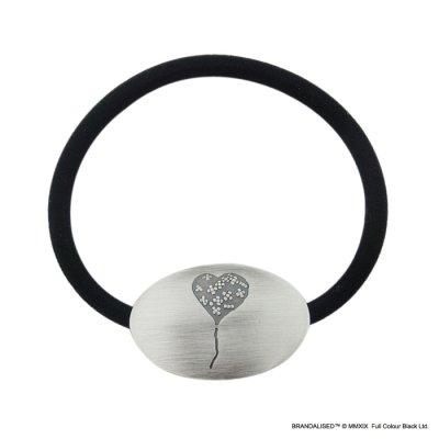 """[ブランダライズド 公式コラボアクセサリー] Banksy """"Bandaged Heart"""" Hair tie/バンクシー バンデージドハートヘアゴム【FatimaDesign×BRANDALISED™】"""