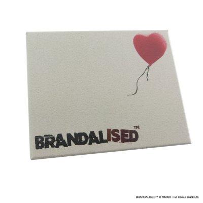"""画像3: [ブランダライズド 公式コラボアクセサリー] Banksy """"Bandaged Heart"""" Hair tie/バンクシー バンデージドハートヘアゴム【FatimaDesign×BRANDALISED™】"""