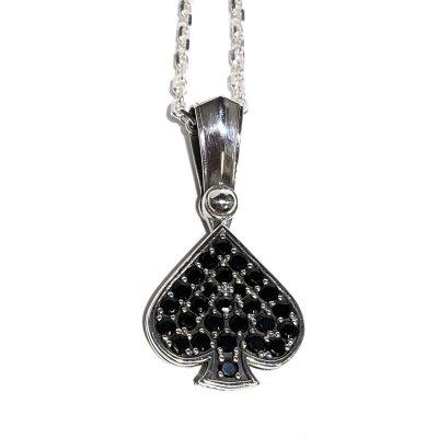 スタイル オブ スペードペンダント|Ark silver accessories(アークシルバーアクセサリーズ)