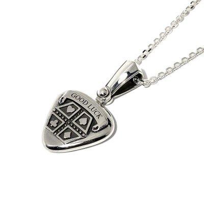 【ギターピック】プレイング ライフ ペンダント Ark silver accessories(アークシルバーアクセサリーズ)