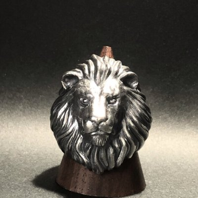 ガッシュ/【ライオン シルバーリング】Large Lion II|gush