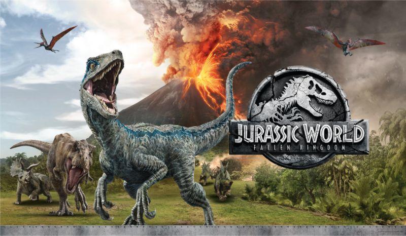 JURASSIC WORLD(ジュラシック・ワールド)ロゴ シルバーアクセサリー