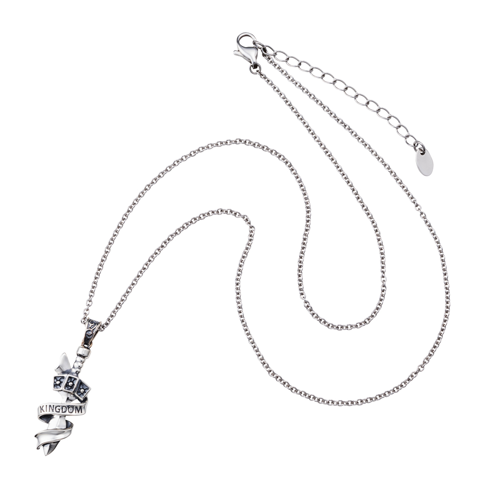 [キングダム グッズ] 信モデル シルバーネックレス|KINGDOM white clover